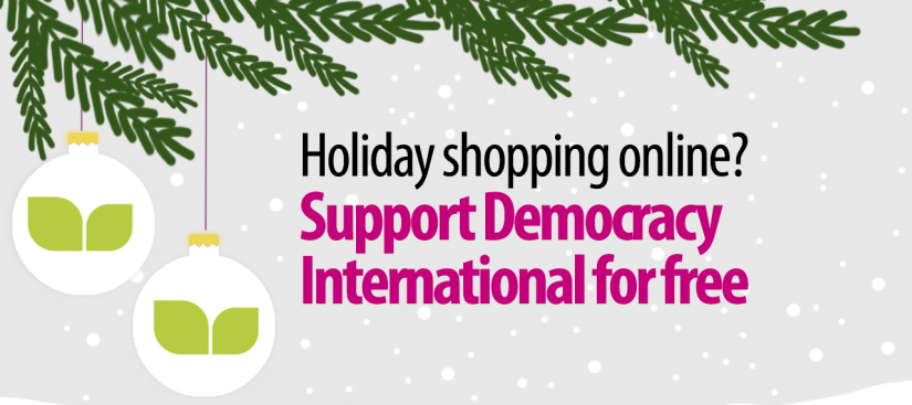 Donate to Democracy International for free