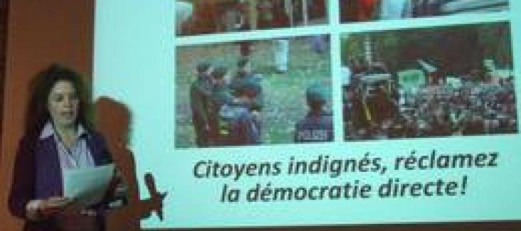 Citaten Democratie Directe : Quot citoyens indignés réclamez la démocratie directe