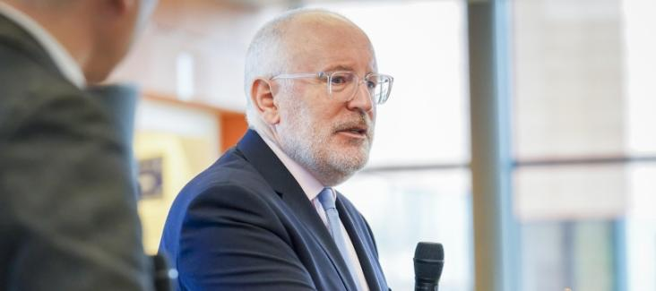 Q&A session with Frans Timmermans, First Vice-President of the European Commission ©EU/2019