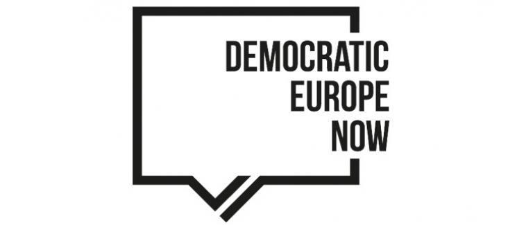 Logo Democratic Europe Now!
