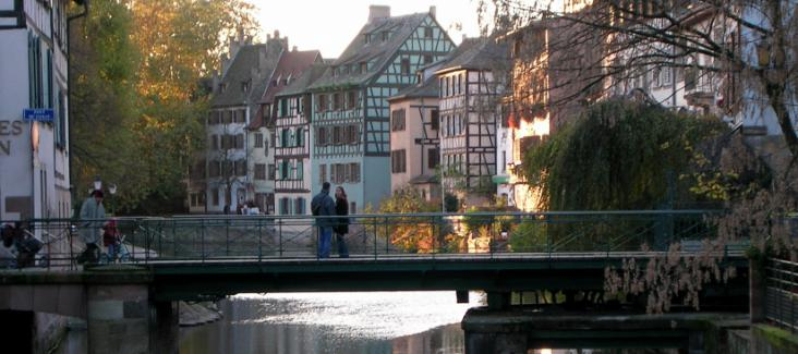 La Petite France of Strasbourg, Strasbourg is set to become the capital of the new region of Alsace, Lorraine, Champagne and Ardennes, Source of Image: Wikipedia