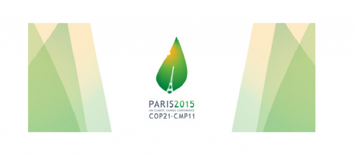 The official logo of the UN climate conference 2015 in Paris