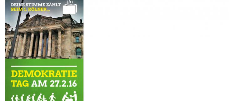 Demokratietag der Koelner Grünen