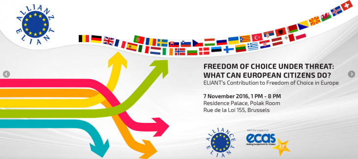 Eliant Conference in Brussels on 7 November 2016