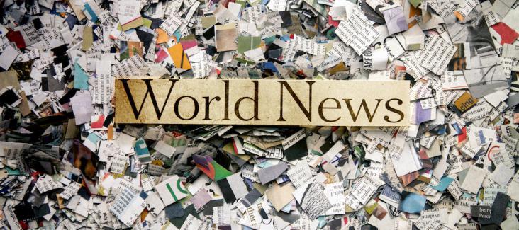 World news. Photo courtesy of Adobe Stock