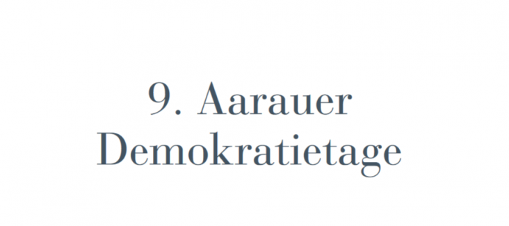 Aarauer Demokratietage