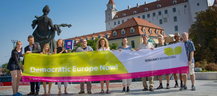 Democratic Europe Now