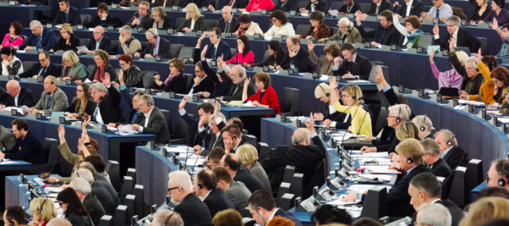 Members of the European Parliament. Source: European Parliament 2014, creative commons