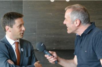 John Edward interviewed by Bruno Kaufmann