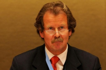 Prof. Dr. Manfred Nowak at the UN in Geneva (Source: UN Photo/ Geneva)