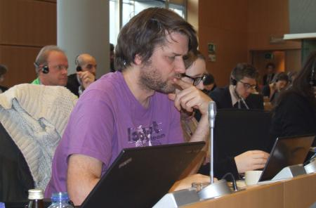 "Xavier Dutoit, he had programmed the online collection system of the ECI ""Right2Water"""
