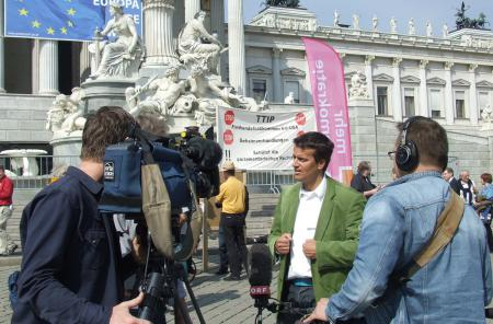 Erwin Mayer interviewed by the Austrian TV channel ORF