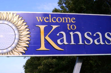 Welcome to Kansas (Photo by Bruno Kaufmann)