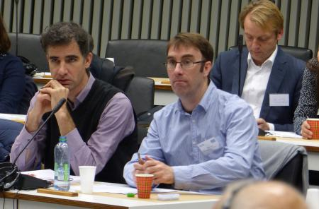 Carsten Berg (left) campaigned for an ECI ten years ago