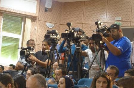 High media presence at the Global Forum 2015