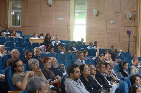 The plenary debates took place in the auditorium of INAT, Carthage University