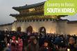 Protest at Gwanghwamun Gate. Foto credit Jjw (CC BY 2.0)
