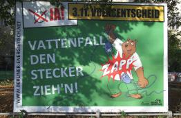 The campaign poster of the citizens' intiative in Berlin