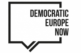 Logo Democratic Europe Now!