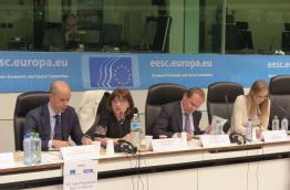 The panel of the ECI Conference in Brussels on 10 December 2014