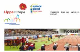 Ein Screenshot von www.eu-direct-lippe.de
