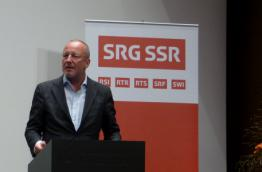 Roger de Weck, General Director of the Swiss broadcasting channel SRG SSR