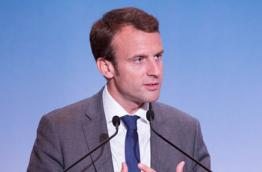 Newly elected President of France, Emmanuel Macron, Photo: Pablo Tupin-Noriega (Wikimedia Commons)