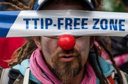 An initial decision by the European Commission not to register an initiative against a free trade agreement between the EU and the US led to Europe-wide protests