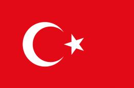 Flag of Turkey (Source: public domain)