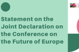 logo citizens take over europe, statement on joint declaration