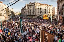 Don't let Belgrade D(r)own (Courtesy of Ne Davimo Beograd)