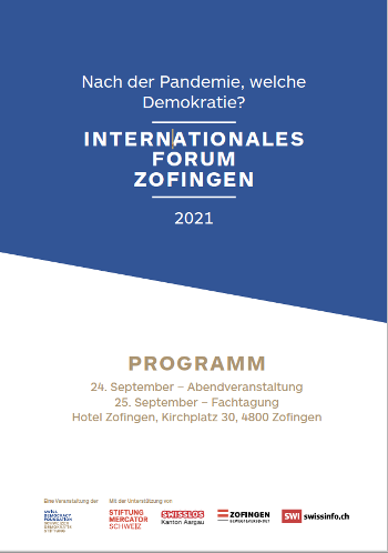 Internationale Demokratie Konferenz Zofingen
