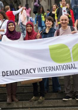 Democracy International in Cologne