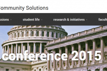 Democracy Conference 2015 in Arizona, screenshot of event website