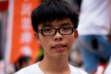 Student Joshua Wong leads the protests in Hong Kong (Source: Wikipedia)