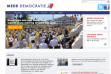 A screenshot of www.meerdemocratie.nl